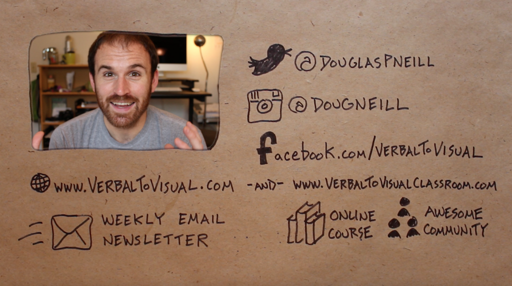 I Made A Cool Outro Video - Doug Neill - Learn In Public - Verbal To Visual