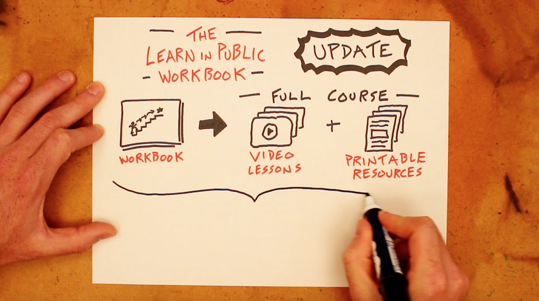 Turning The Learn In Public Workbook Into A Course - Doug Neill